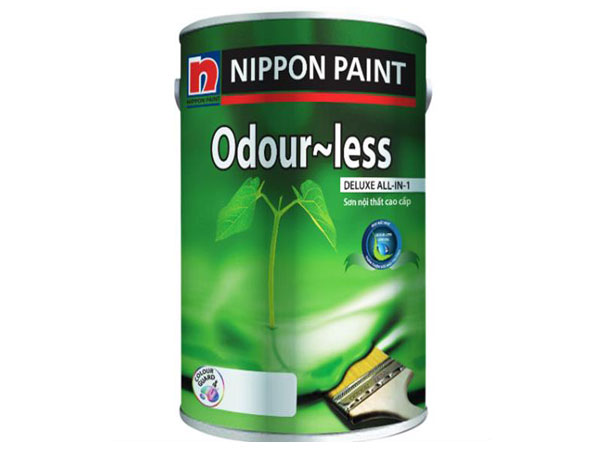 Sơn nội thất cao cấp Nippon Odour-less Duluxe All-In-1